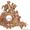 Старинные каминные часы Германия 19 век #584385