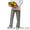 Костюм повара (китель, брюки, колпак) #898454