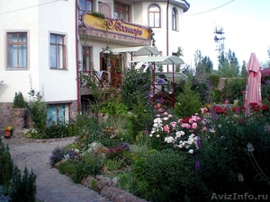 летний отдых на озере Иссык-Куль, в отеле Восторг, Киргизия. - Изображение #2, Объявление #691853