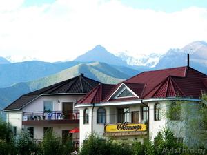 летний отдых на озере Иссык-Куль, в отеле Восторг, Киргизия. - Изображение #1, Объявление #691853