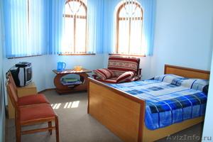летний отдых на озере Иссык-Куль, в отеле Восторг, Киргизия. - Изображение #3, Объявление #691853