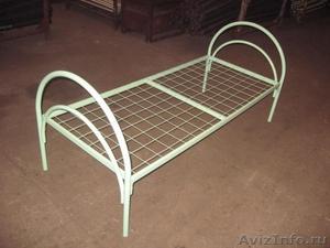 кровати металлические для больницы, кровати для пансионата, кровати для лагеря - Изображение #1, Объявление #901698