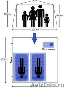 Мобильная баня-палатка МОРЖ без печи - Изображение #4, Объявление #1643375