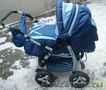 Детская коляска NEON зима,  лето.