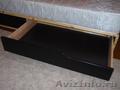 Долговечная кровать IKEA Мэндаль с изголовьем