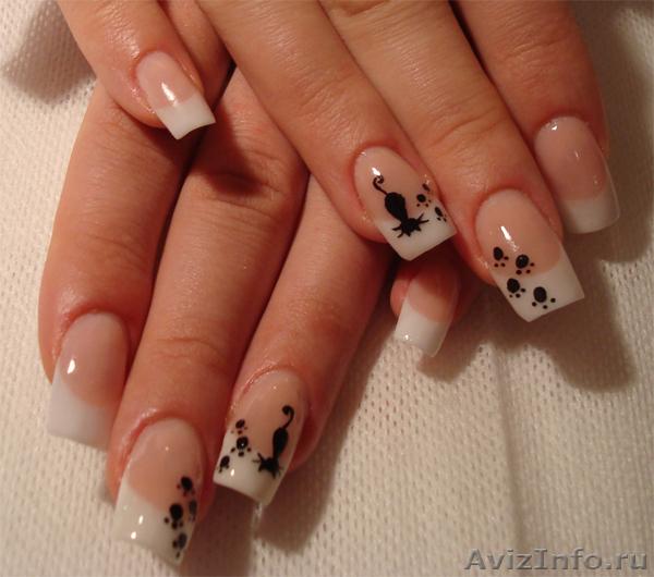 Дизайн ногтей основы