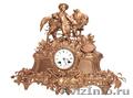 Старинные каминные часы Германия 19 век