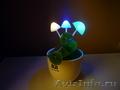 Светодиодный светильник грибы