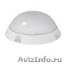 Светодиодные антивандальные светильники для ЖКХ  круглые (185х185х70 мм)