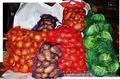 Сетка мешок (овощная сетка) и сетка-рукав вязанная для овощей по низким ценам