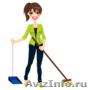 Любые виды уборки,  а также химчистка мебели и ковров!