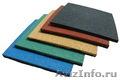 Модульная плитка из резиновой крошки по доступной цене. Производство и поставка