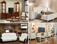 Гостиные и спальни в стиле Прованс в мебельном салоне «Ренессанс»